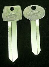 FORD OEM KEY BLANK SET fits many 80's-90's Models with LONG IGNITION See List!