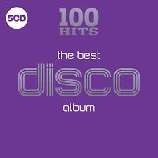 100 Hits The Best Disco Album Various Artists 5 CD Digipak NEW