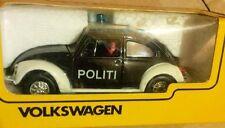 Escaso Tomica Kado VW Beetle Dinamarca policía Koek hecho Japón 1:43 Menta en caja