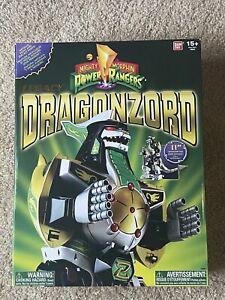 *NEW* Bandai Mighty Morphin Power Rangers Green Ranger Legacy Dragonzord -RARE-