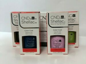 BRAND NEW! CND Shellac UV LED Gel Nail Polish 7.3ml 0.25oz YOU PICK