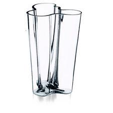 IITTALA ALVAR AALTO Finlandia Vase 251mm Clear *NEW