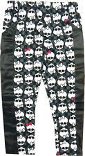 Morris Costumes Girl's Monster High Creeperific Skull Design Print Pant. XS12898