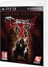 PS3 The Darkness 2 Edición Limitada Nuevo Precintado Pal España