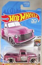 2018 Hot Wheels #207 HW Metro 4/10 '52 CHEVY Pickup Lavender w/Black MC5 spoke