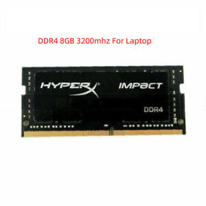 For HyperX Impact 8GB DDR4 SODIMM 2133 2400 2666 3200 MHz 1.2v Laptop RAM