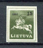 S11911) Lietuva Lithuania MNH 1991, Definitive 1v