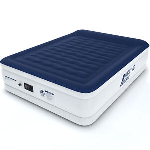 Active Era® Luxury King Size Air Bed Air Mattress with Built-in Pump and Pillow