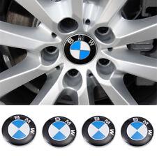 4 Stück BMW 68mm Nabendeckel Radnaben Nabenkappen Felgendeckel Radkappe Embleme