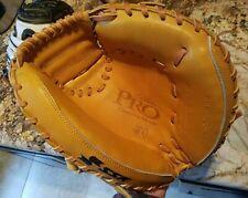 New SSK Custom Baseball Catchers Mitt, 33 inch, Open Mesh Back, RHT