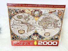EuroGraphics Antique Map of the World Jigsaw Puzzle (2000-Piece) Made In USA