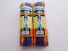 *NOS Vintage MICHELIN AXIAL Performance 700 x 20C 'Gios' blue clincher tyres*
