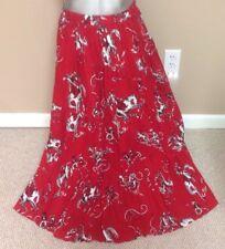 Circle T Marilyn Lenox Rare Beautiful Red Dress Western Swing Dress Sz Medium