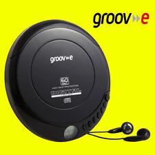 Groov-e GVPS110 BLACK Digital Retro Series Portable Personal CD Player Walkman