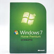 Windows 7 Home Premium 32 & 64 Bit DVD BOX Win 7 - Portugiesisch, Português -