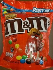 NEW PEANUT BUTTER M&M'S MILK CHOCOLATE CANDIES PARTY SIZE 34 OZ BAG MARS BUY IT