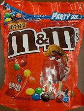 NEW PEANUT BUTTER M&M'S MILK CHOCOLATE CANDIES PARTY SIZE 34 OZ BAG MARS BUY IT