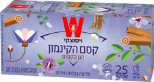Wissotzky Magical Garden Cinnamon  Infusion Decaff Kosher Product 25 Bags