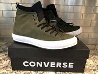 Converse Chuck Taylor All Star Hi Top Suede Leopard Shoes