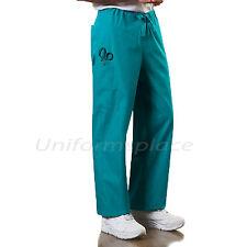 Cherokee Workwear Scrubs Pants Unisex Men, Women Drawstring Cargo Pants 4100