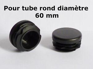 25 Lamelles bouchon noir Ø extérieur 25 mm-WS 3,0 à 5,0 mm-Tube Bouchon