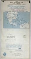 Collectible Vintage World Aeronautical Chart CH-24 1979
