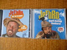 2 CD ALBUMs - JETHRO [Stark Raving Bonkers & Only for the Barmy]