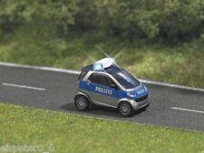 Busch 5623, Smart Polizei mit Beleuchtung, H0 Fahrzeug Modell 1:87