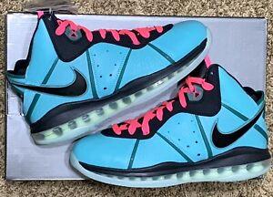 DS Nike Lebron 8 VIII South Beach 2021 CZ0328-400 | Men's Size 8.5 | Women's 10