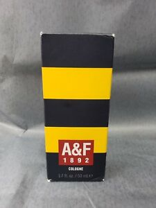 A&F 1892 Cologne Yellow 1.7 Fl Oz 50 Ml