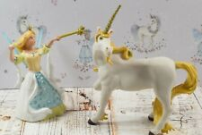 Lovely Set of 2 Papo figures Princess and the Unicorn