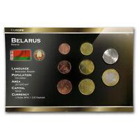 Belarus 1 Kopek - 2 Rubles 8-Coin Set BU - SKU#157336
