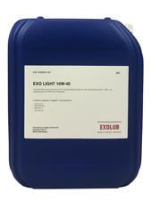 20 Liter 10W-40 Kanister EXO Motoröl API SL CF MB 229.1 VW 505 00 20L AKTION