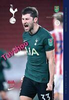 Tottenham Hotspur v Brentford CARABAO CUP SEMI-FINAL Programme 5/1/21 LAST FEW!!