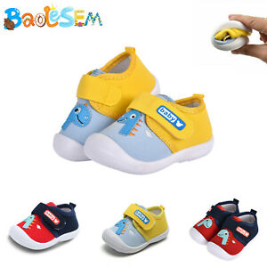 Infant Baby Girls Boys Toddler Anti-slip Warm Slippers Socks Crib Shoes Boots UK