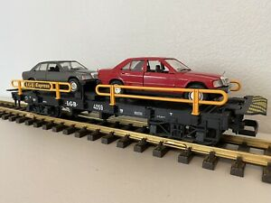 LGB 4059 :: Mercedes Benz Auto Transport Car G-Scale