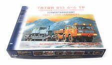 SDV LKW Tatra 813 6x6 TP Anhänger P 20 Traktor DT 54 Kunststoff Bausatz 1:87 H0
