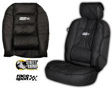 SEAT Leon universal Race Sport negro acolchado cubre Asiento Delantero