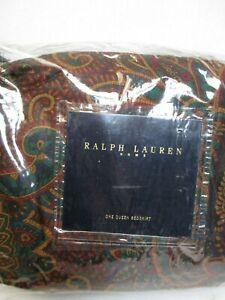 RARE New Ralph Lauren ASCOT Multi Paisley Floral Bedskirt - Queen
