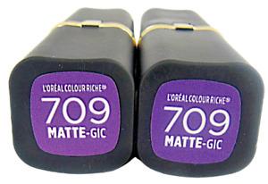 L'Oréal Colour Riche Lipstick #709 Matte-GIC (2)
