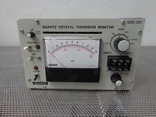 Balzers QSG 301 Quartz Crystal Thickness Monitor