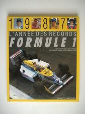 """FORMULE 1 1987   """"l'année des records"""""""
