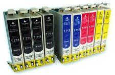 Pack 17 cartuchos de tinta compatible Epson T0711 T0712 T0713 T0714