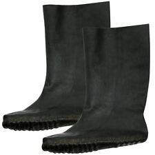 Bike It Rubber MOULDED Motorcycle Overboots 100 Waterproof Motorbike Scooter Small 4-5 Ovbs
