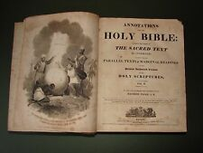 Annotations upon the Holy Bible Holy Scriptures Vol II Antique Book 1814