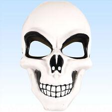 Skelettmaske Maske Totenkopf Schädel Tod Horrormaske Halbmaske Faschingsmaske