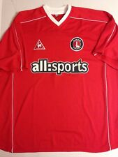 MAILLOT FOOTBALL JERSEY LE COQ SPORTIF CHARLTON ATHLETIC SAISON 2002-2003