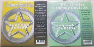 2 CDG LEGENDS KARAOKE DISCS 50'S-70'S OLDIES & R&B 5TH DIMENSION,RAY CHARLES ETC