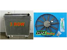 Aluminum Radiator &FAN Toyota 4 Runner HILUX VZN130 3.0L 3VZ-FE V6 Petrol