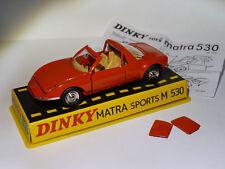 Matra Sports M 530 / M530   - ref 1403 au 1/43 de dinky toys atlas